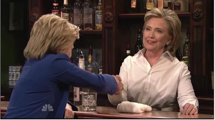 Hillary Clinton SNL