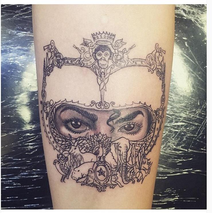 Paris Jackson's new tattoo